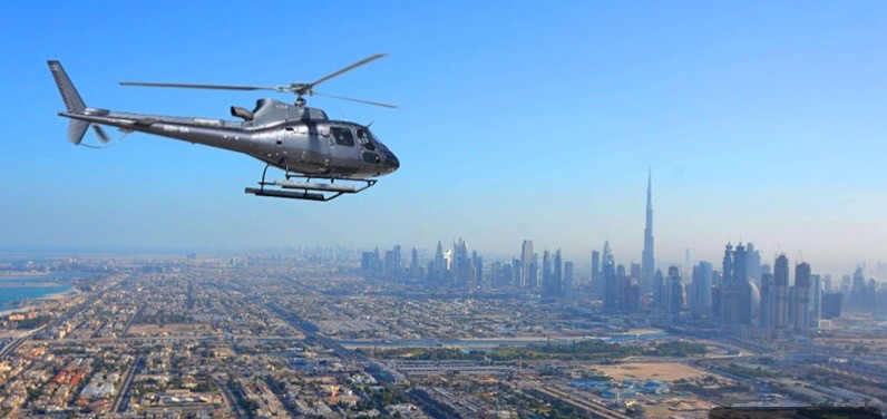 HELICOPTER TOUR - 40 min