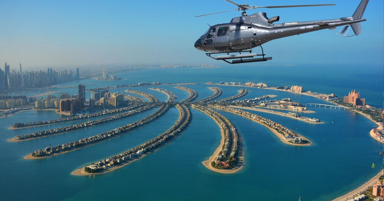 HELICOPTER TOUR - 12 min