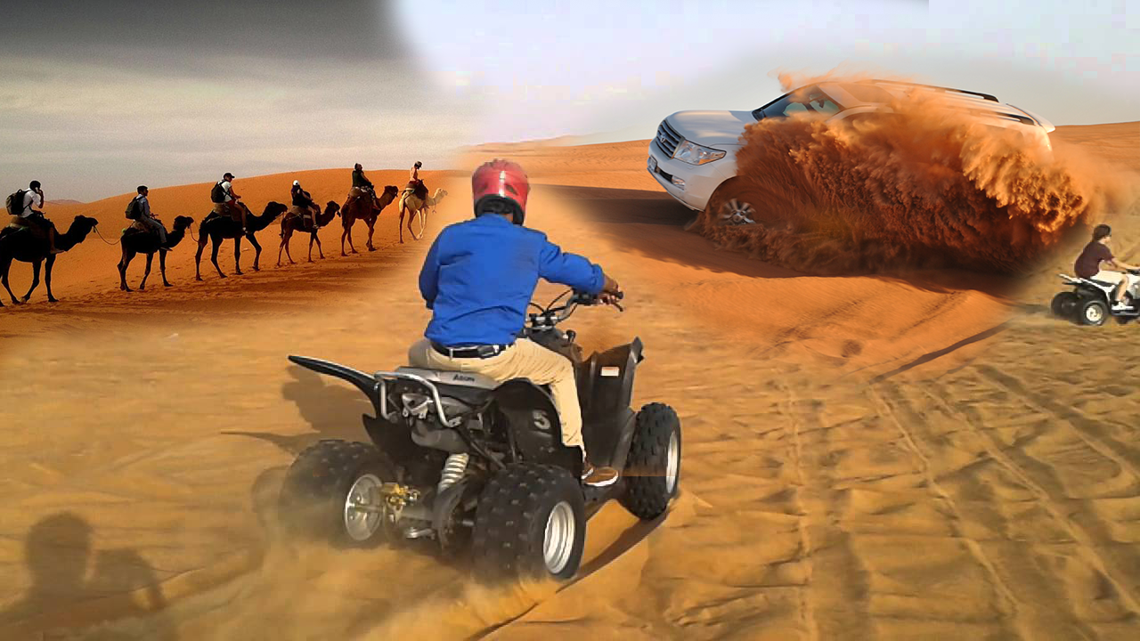 COMBO DESERT SAFARI | QUAD BIKING | CHAUFFEUR PRIVE