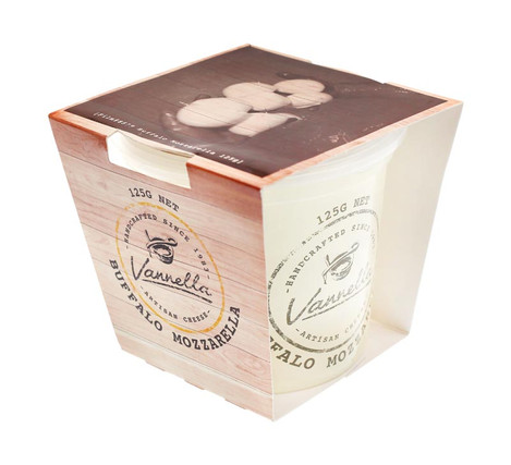 Vannella Cheese Packaging Design