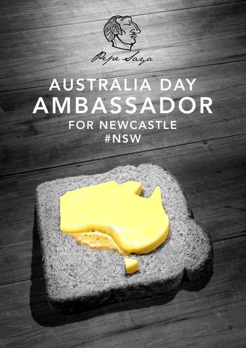 Australia Day Ambassador / Pepe Saya