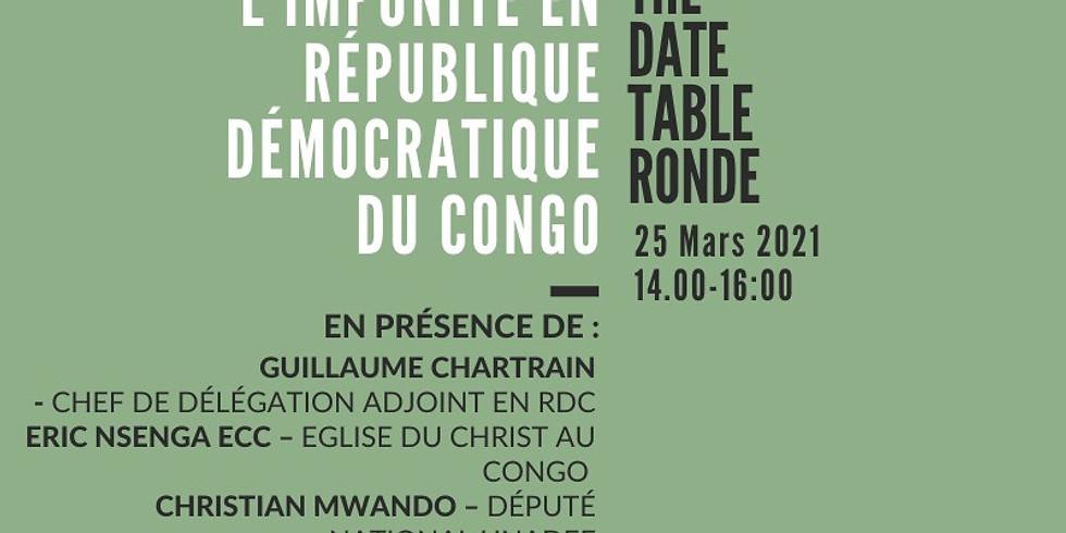 Débat au Parlement Européen: Impunité en République Démocratique du Congo