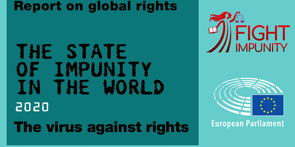 Presentation to the European Parliament of the Report: The State of Impunity in the World