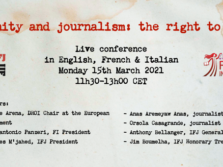 Impunity and journalism: the right to know