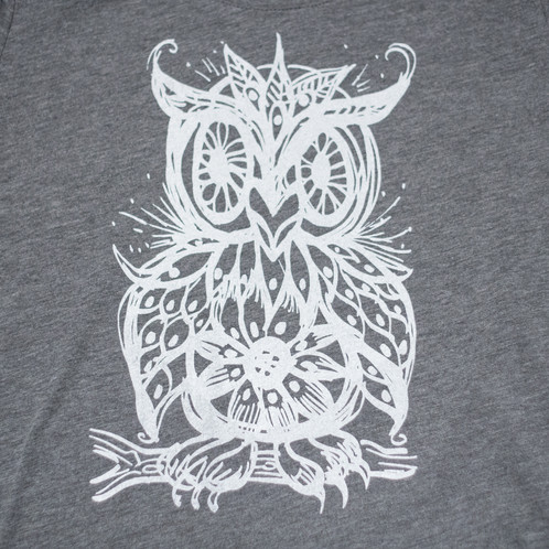 955ff91f This image is printed on a super soft and cozy Tri Blend Bella Canvas  Woman's Swoop neck t-shirt with a pale white ink.