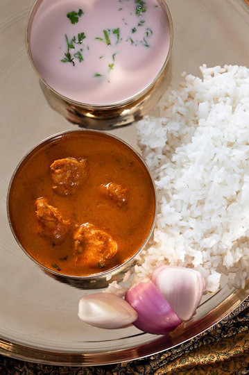 Sol Kadi with Curry & Rice