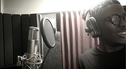 Astar in the booth.
