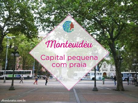 Montevidéu – capital pequena com praia