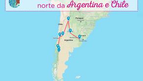 Roteiro - norte da Argentina e Chile