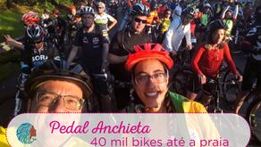 Pedal Anchieta – 40 mil pessoas de bike até a praia
