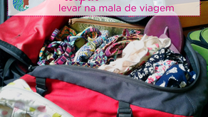 Que roupas levar na mala de viagem