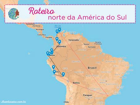 Roteiro – Norte da América do Sul