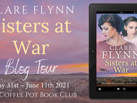Tour: Sisters at War by Clare Flynn