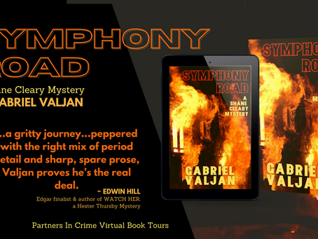 TOUR - Symphony Road (Shane Cleary Mystery, #2) by Gabriel Valjan