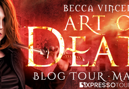 TOUR, REVIEW & #GIVEAWAY - Art of Death (Curse Breakers, #1) by Becca Vincenza