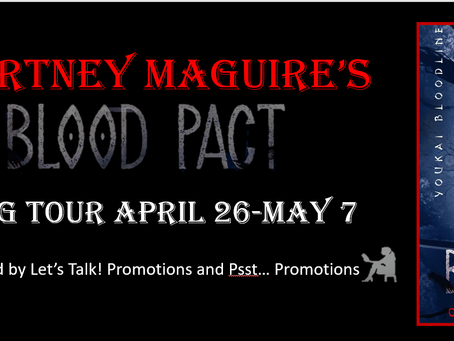 Tour & #Giveaway: Blood Pact (Youkai Bloodlines #2) by Courtney Maguire
