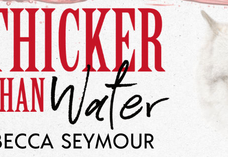 RELEASE BLITZ, REVIEW & #GIVEAWAY - Thicker Than Water by Becca Seymour
