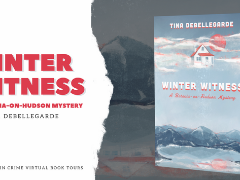 TOUR, REVIEW & #GIVEAWAY - Winter Witness (Batavia-on-Hudson #1) by Tina deBellegarde