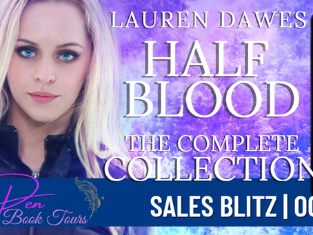 Sales Blitz & Review - Half Blood: The Complete Collection: Books 1-5 by Lauren Dawes