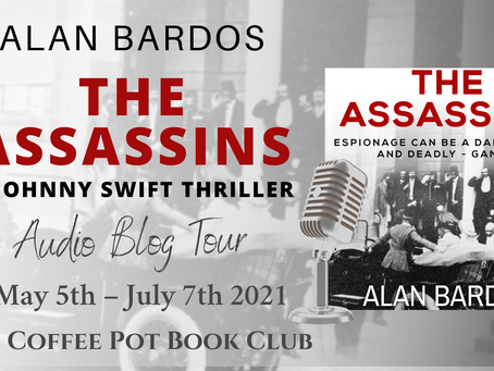 Tour: The Assassins (Johnny Swift Thrillers #1) by Alan Bardos - Audiobook narrated by Jack Bennett