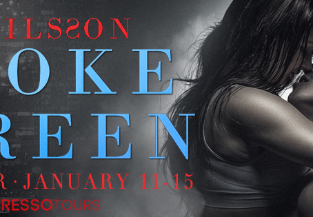 TOUR, EXCERPT & #GIVEAWAY - Smoke Screen (The Blue Trilogy #2) by K. Nilsson