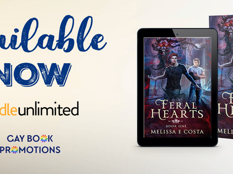 Tour & #Giveaway: Feral Hearts (Feral Hearts #1) by Melissa E Costa