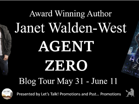 Tour & #Giveaway: Agent Zero (Region Two Series #1) by Janet Walden-West
