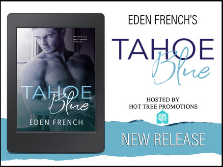 TOUR, REVIEW & #GIVEAWAY - Tahoe Blue by Eden French