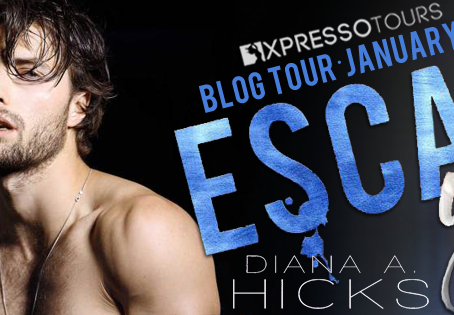 TOUR, REVIEW & #GIVEAWAY - Escape You (Cole Brothers, #3) by Diana A. Hicks