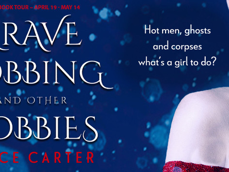 TOUR & #GIVEAWAY: Grave Robbing and Other Hobbies (Grave Concerns #1) by Jayce Carter