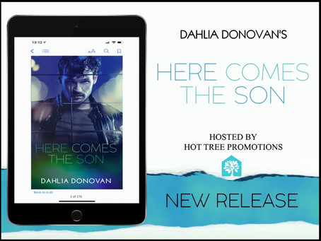RELEASE BLITZ, REVIEW & #GIVEAWAY - Here Comes the Son by Dahlia Donovan