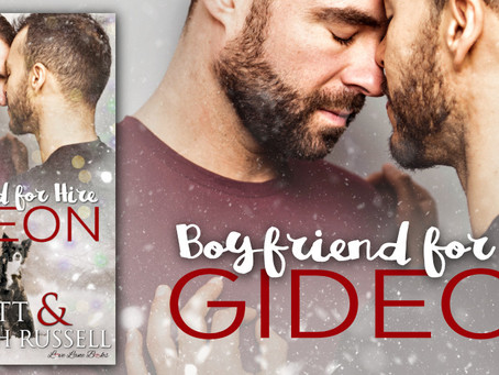 TOUR, REVIEW & #GIVEAWAY - Gideon (Boyfriend for Hire #3) by R.J. Scott & Meredith Russell