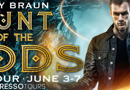 TOUR, REVIEWS & #GIVEAWAY - Hunt of the Gods (Areios Brothers #2) by Amy Braun