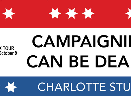 TOUR, EXCERPT, INTERVIEW & #GIVEAWAY - Campaigning Can Be Deadly by Charlotte Stuart