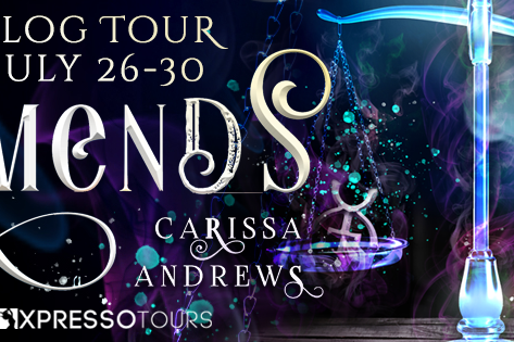 Tour & #Giveaway: Amends (Diana Hawthorne Supernatural Mystery #2) by Carissa Andrews
