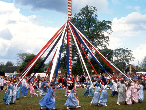 It's May Day - time to put your bells on!