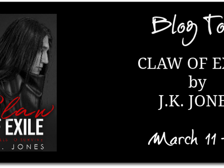 TOUR - Claw of Exile (Exiled #1) by J.K. Jones