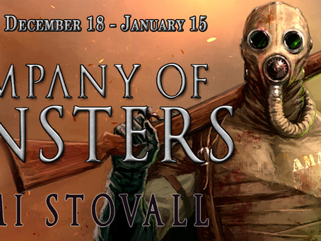 REVIEW TOUR & #GIVEAWAY - A Company of Monsters (The Sorcerers of Verdun #2) by Shami Stovall