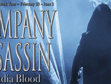 TOUR & #GIVEAWAY - Company Assassin (Relic #1) by Claudia Blood