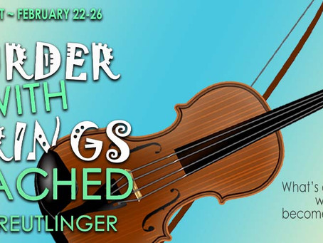 TOUR & #GIVEAWAY - Murder with Strings Attached by Mark Reutlinger