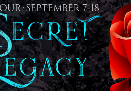 TOUR, REVIEW & #GIVEAWAY - Secret Legacy (The Windhaven Witches #1) by Carissa Andrews