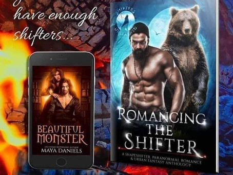 Beautiful Monster by Maya Daniels - part of the Romancing The Shifter Box Set