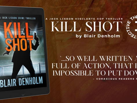 Tour & #Giveaway: Kill Shot (The Fighting Detective #1) by Blair Denholm
