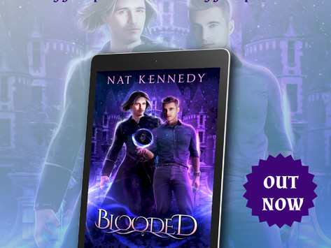 Tour & #Giveaway: Blooded by Nat Kennedy