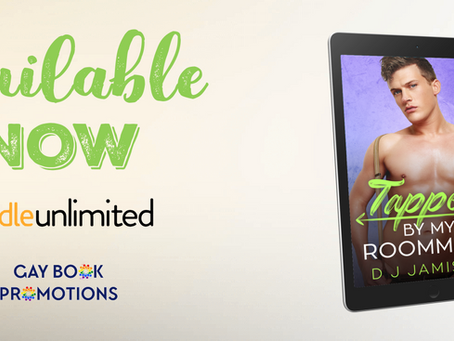Blitz & #Giveaway - Tapped by My Roommate (Thrust Into Love #3) by D.J. Jamison
