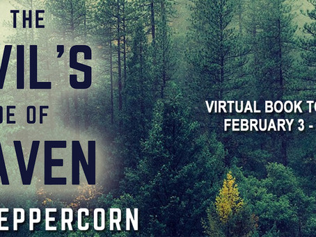 TOUR, EXCERPT & #GIVEAWAY - On The Devil's Side of Heaven by Roger Peppercorn