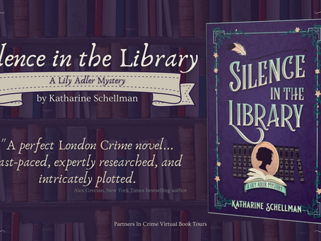 Tour & #Giveaway: Silence in the Library (Lily Adler Mystery #2) by Katharine Schellman