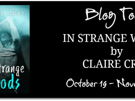 TOUR, REVIEW & #GIVEAWAY - In Strange Woods by Claire Cray