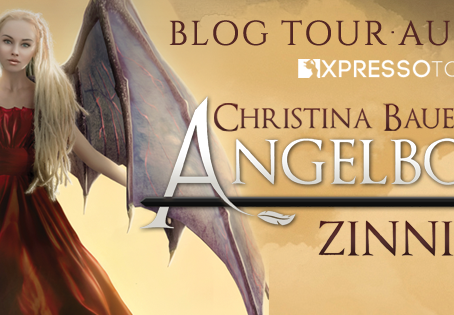 TOUR, REVIEW & #GIVEAWAY - Zinnia (Angelbound Offspring #3) by Christina Bauer