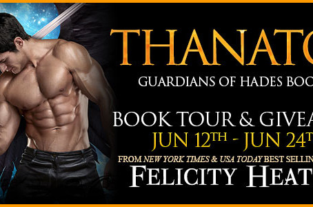 Tour & #Giveaway- Thanatos (Guardians of Hades #8) by Felicity Heaton